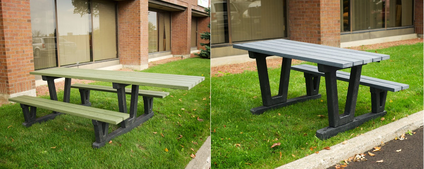 Classic Displays Helping You Become AODA Compliant - One sided picnic table
