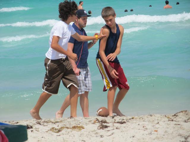 miami beach,miami,kids playing