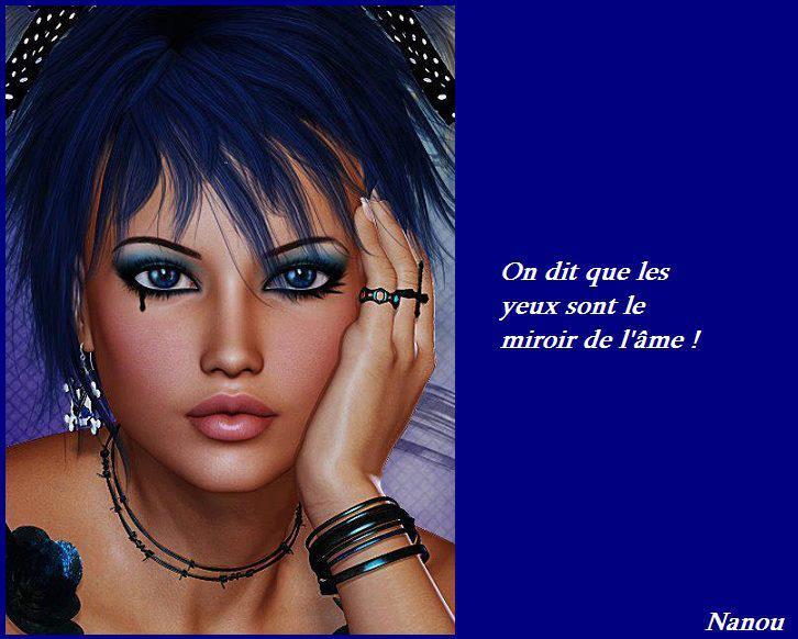 Citations et panneaux facebook partager les yeux sont for Le miroir de l ame