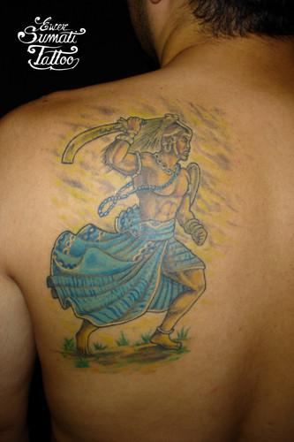 Tatuagem e religião - Umbanda