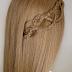 Side Braid Tutorial For Long Hair The: 4 Strands Braid Hair Tutorial