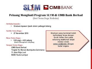 Kerja Kosong CIMB Bank Berhad