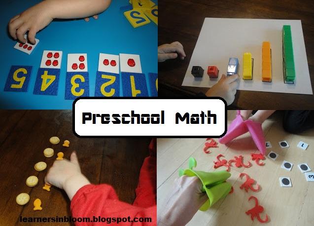 Favorite Preschool Math Ideas