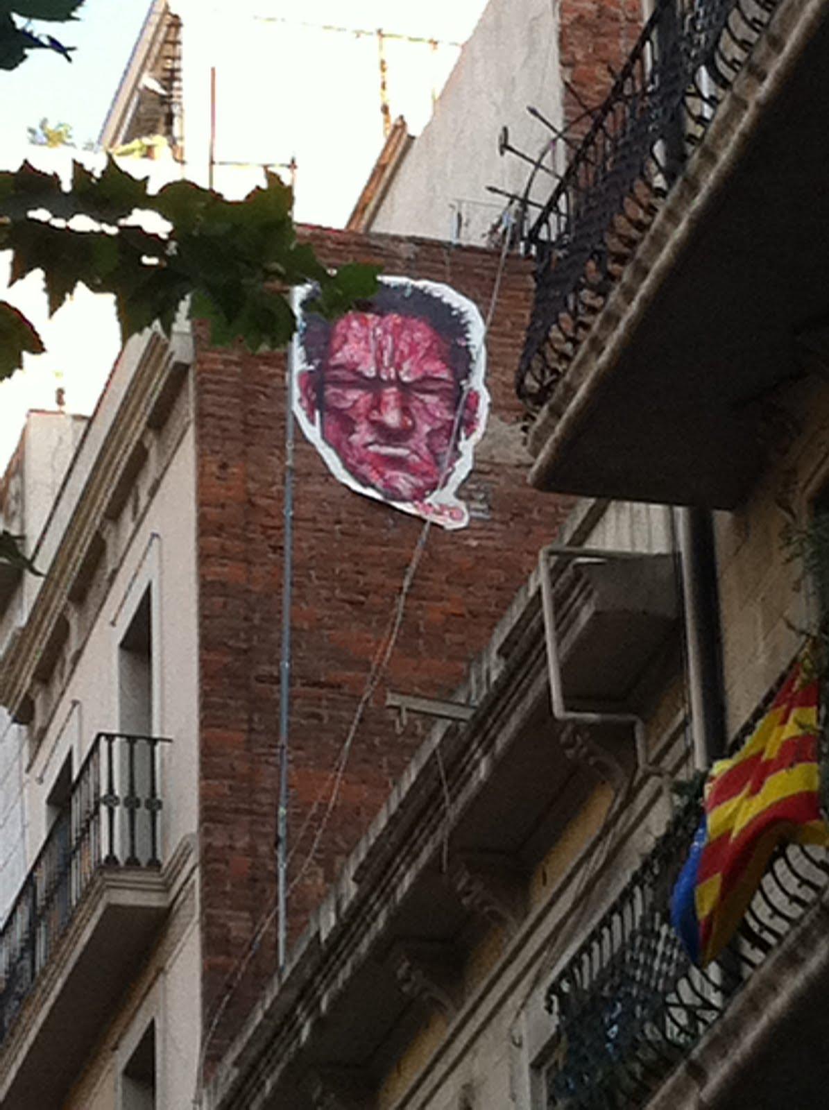 The graffiti hunter de caza por el eixample - Calle borrell barcelona ...