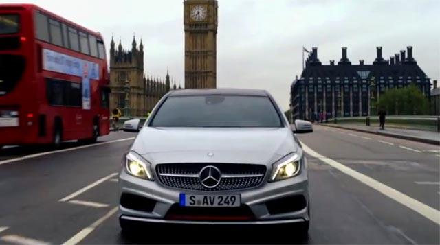 Mercedes Clase A y el Big Ben