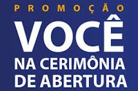 Promoção 'Você na Cerimônia de Abertura' VISA e Cielo www.promocaocieloevisa.com.br