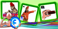Animations Display Picture – Makassar Heroes – Sultan Hasanuddin – Blackberry Low Batt | gif | Blackberry Messenger Avatar | Fadli Jabir | Blackberry animasi | Funny Cartoons | Blackberry Animations