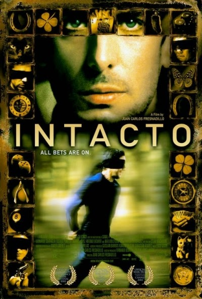 Intacto film 2001 juan carlos fresnadillo poster