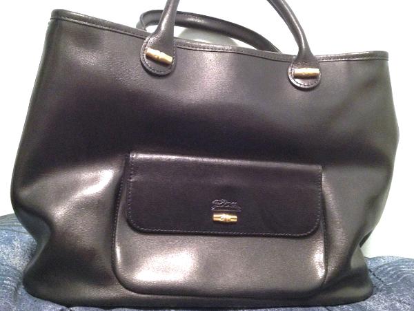 Longchamp leather bag sale