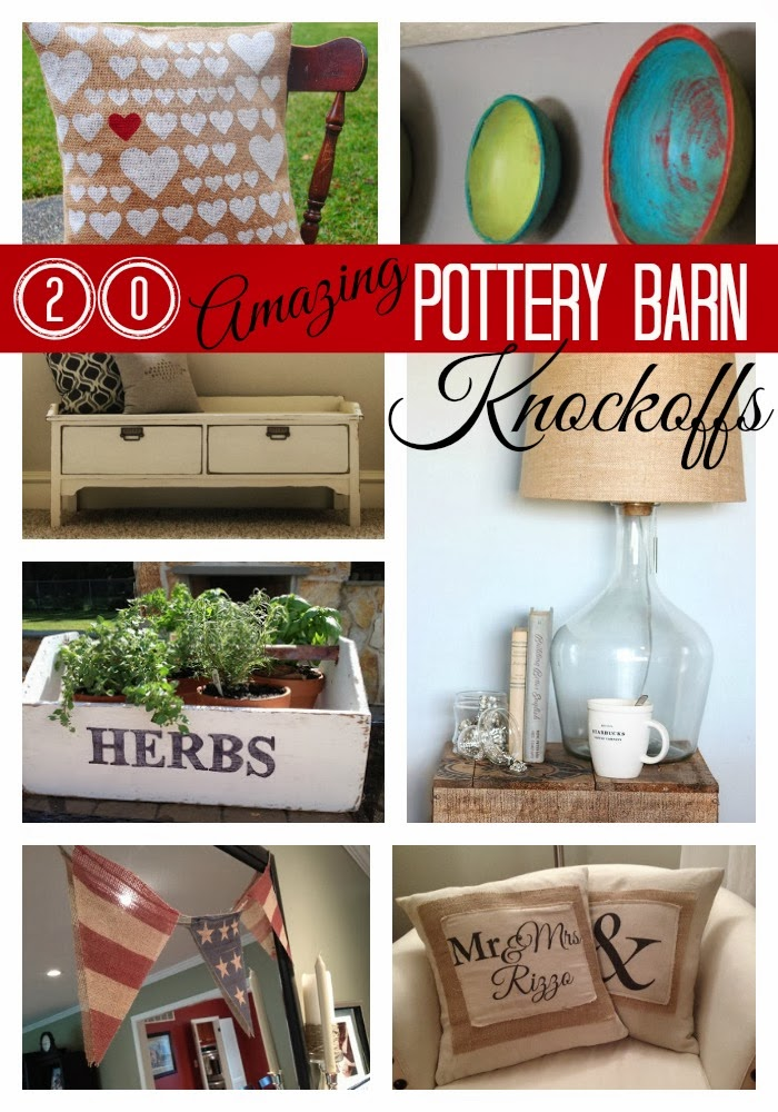 In Case You Havenu0027t Noticed I Am A Big Fan Of Knockoffs   And Iu0027m Partial  To DIY Pottery Barn Knockoffs. I Often Use Pottery Barnu0027s Beautiful Classic  And ...
