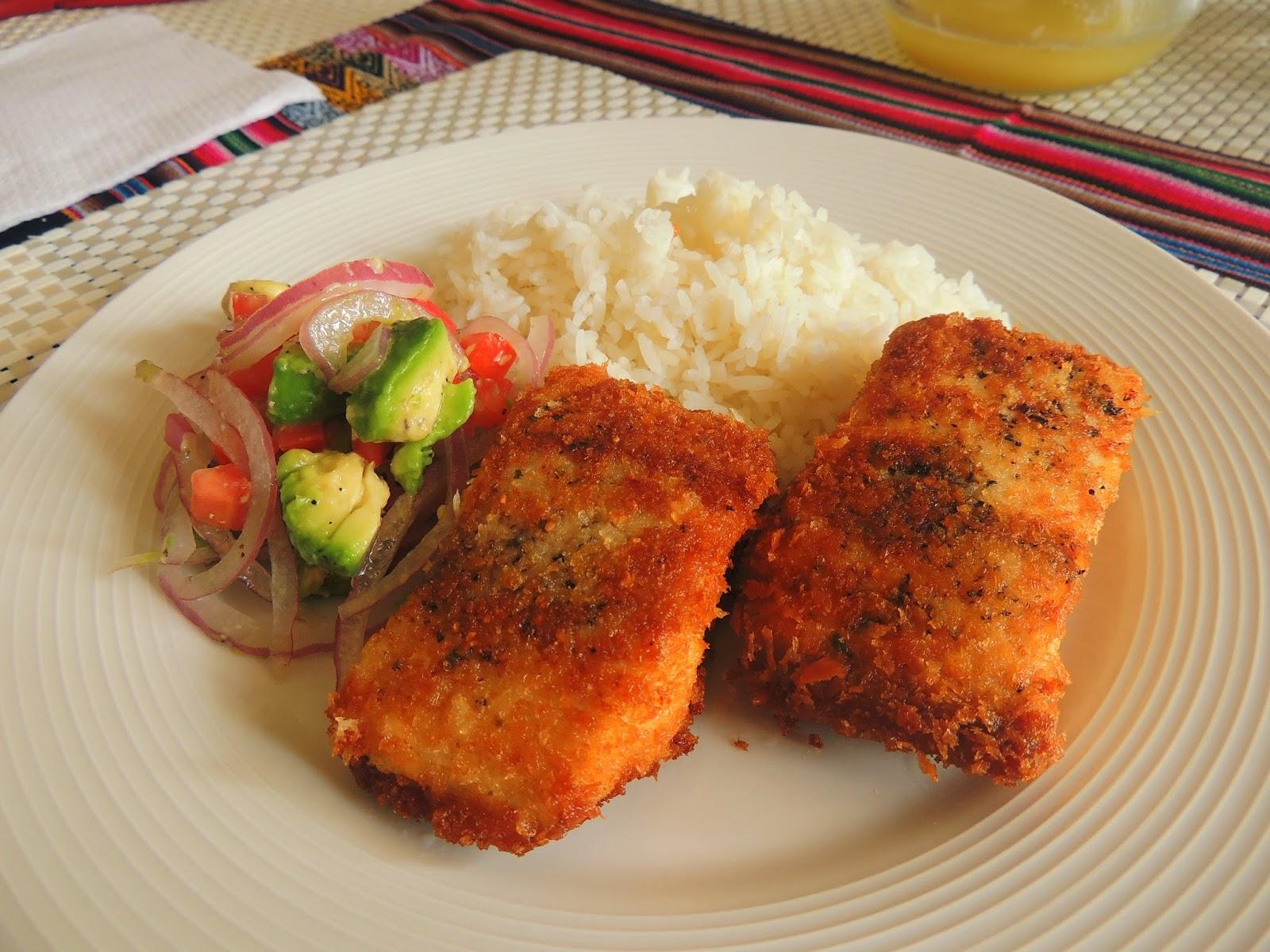 Hoy vamos a preparar pescado frito al panco acompa ado for Cocinar 2 tazas de arroz