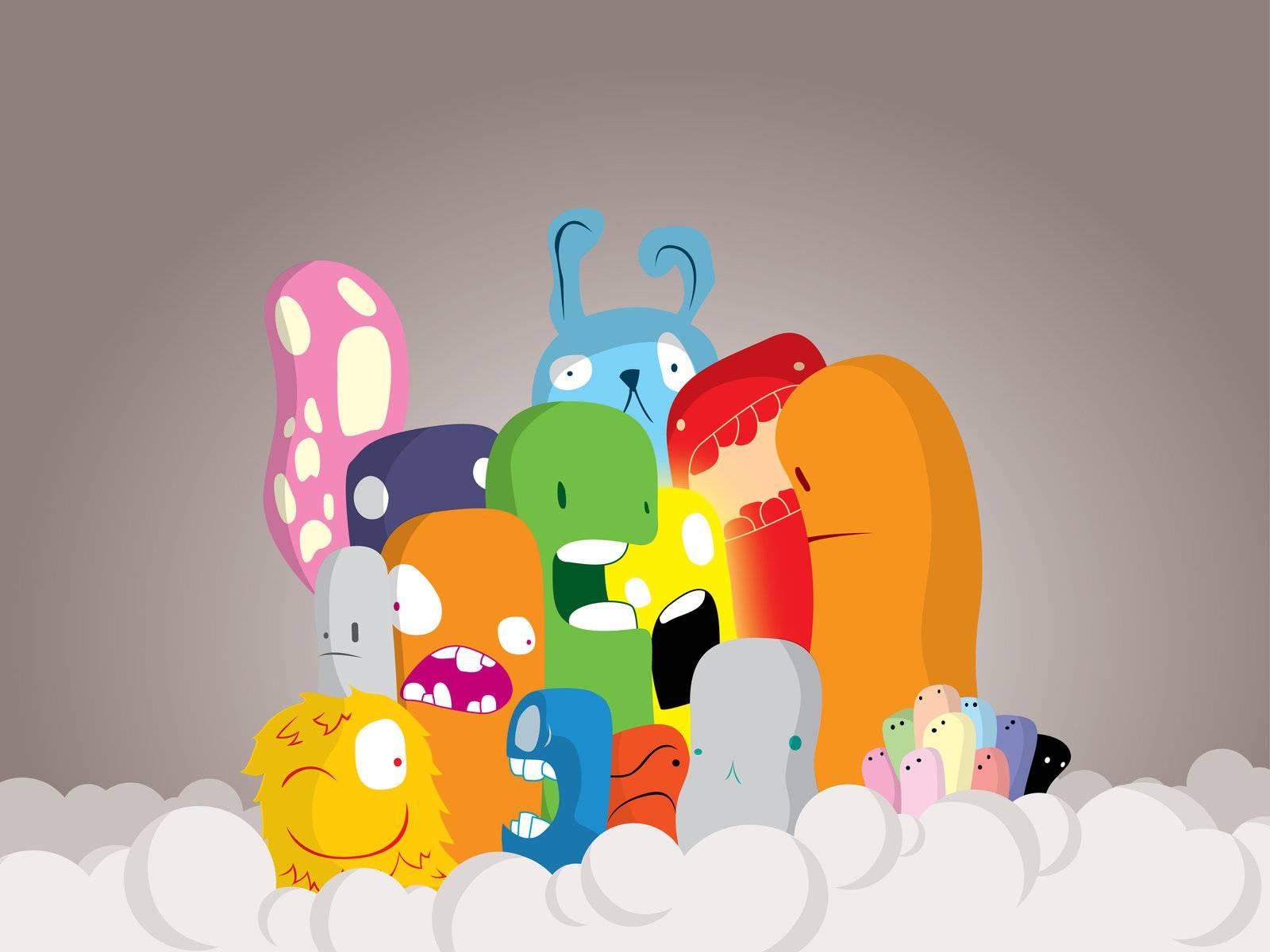 Imagenes hilandy fondo de pantalla animacion monstruos - Imagenes con animacion ...