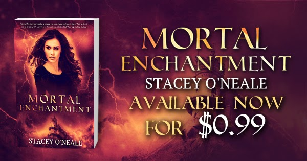 http://www.amazon.com/Mortal-Enchantment-Stacey-ONeale-ebook/dp/B00K5UCVQQ/ref=la_B00IVS7FHE_1_1_title_0_main?s=books&ie=UTF8&qid=1404923406&sr=1-1#