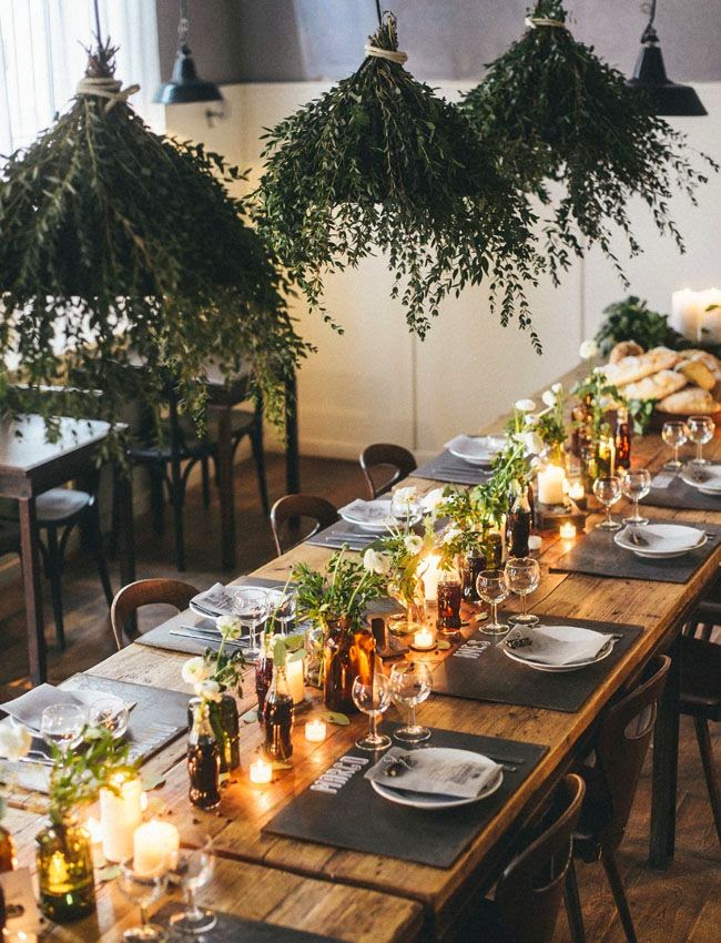 Via How To Simplify : rustic table setting ideas - pezcame.com