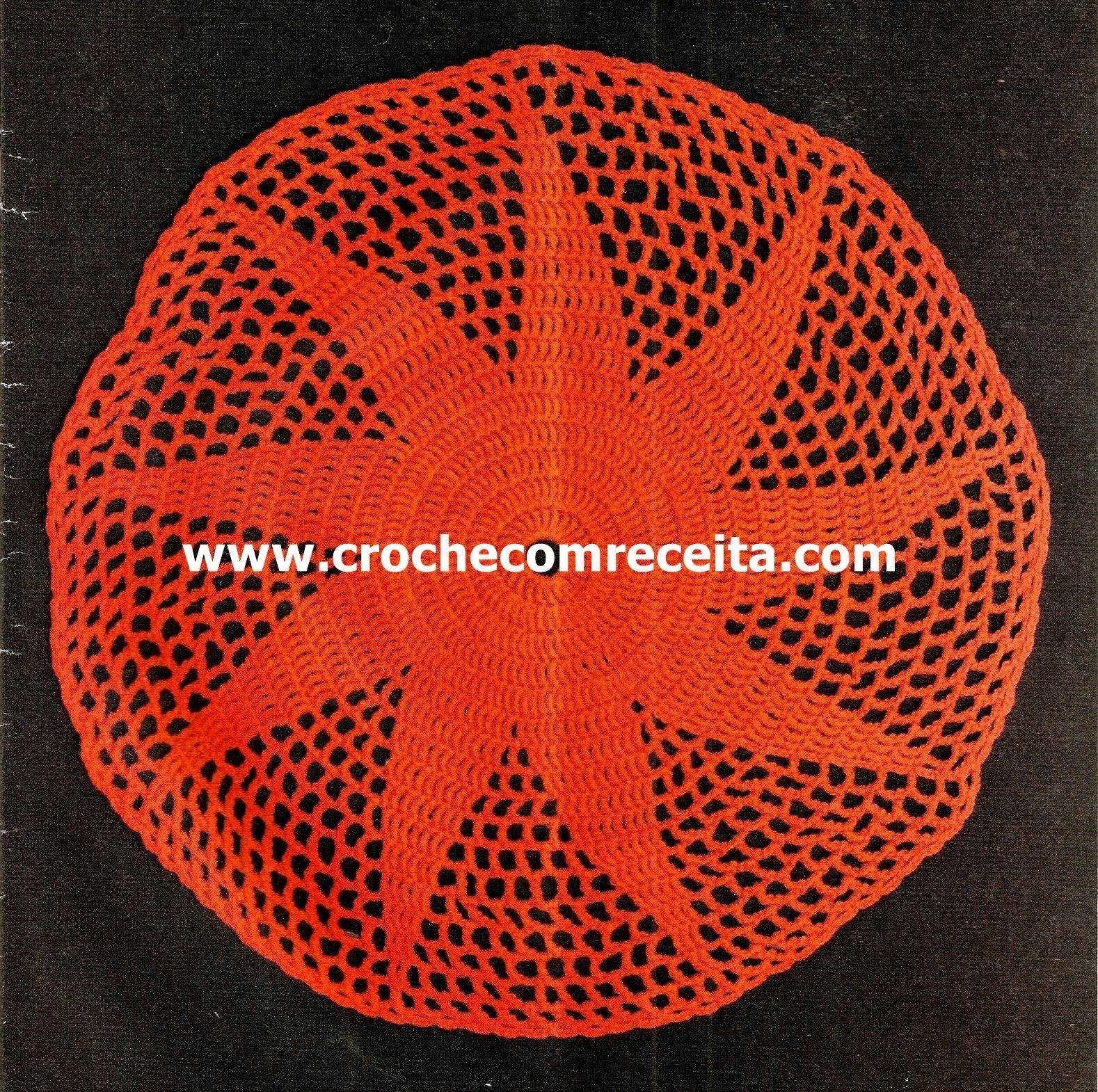 dvd toalhas centros caminhos mesa sala cozinha copa loja curso de croche com frete gratis