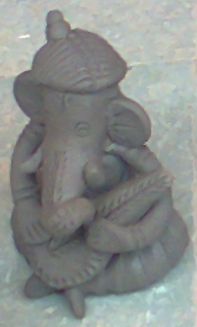 eco friendly ganesh