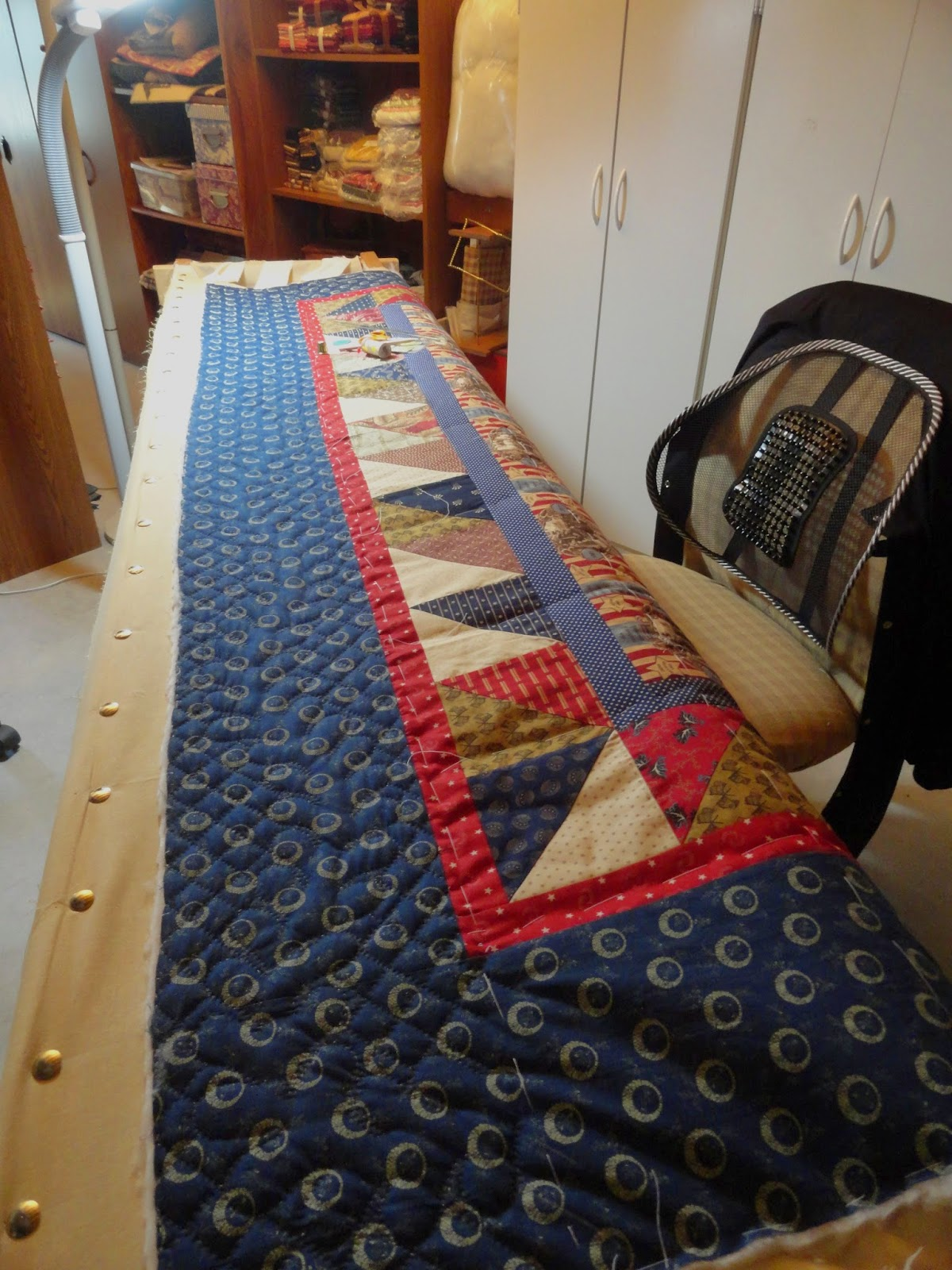 The Civil War Quilter: Sure Signs of Winter: Snow & a Quilt in the ...