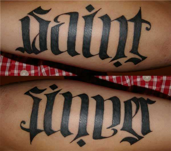 Ambigram Tattoo Maker