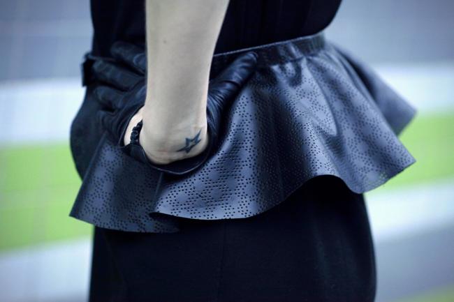 DIY peplum belt by Xenia Kuhn for fashionrolla.com
