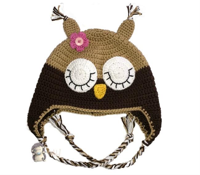 Famoso Solo Crochet Patrón Del Sombrero Orejera Bosquejo - Ideas de ...