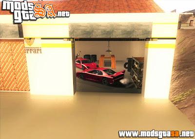 SA - Ativar Garagens Não Utilizadas