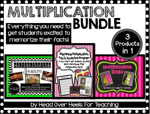 http://www.teacherspayteachers.com/Product/Multiplication-Bundle-Everything-to-memorize-those-multiplication-facts-1290199