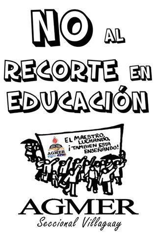 ORGANIZACIÓN Y LUCHE PARA FRENAR EL AJUSTE!