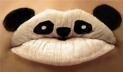 Maquiagem criativa que transforma a boca em arte - 03