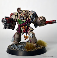 Mis Olvidadas Figuras: Dice and Brush: Tutorial: How I paint Deathwing Te...