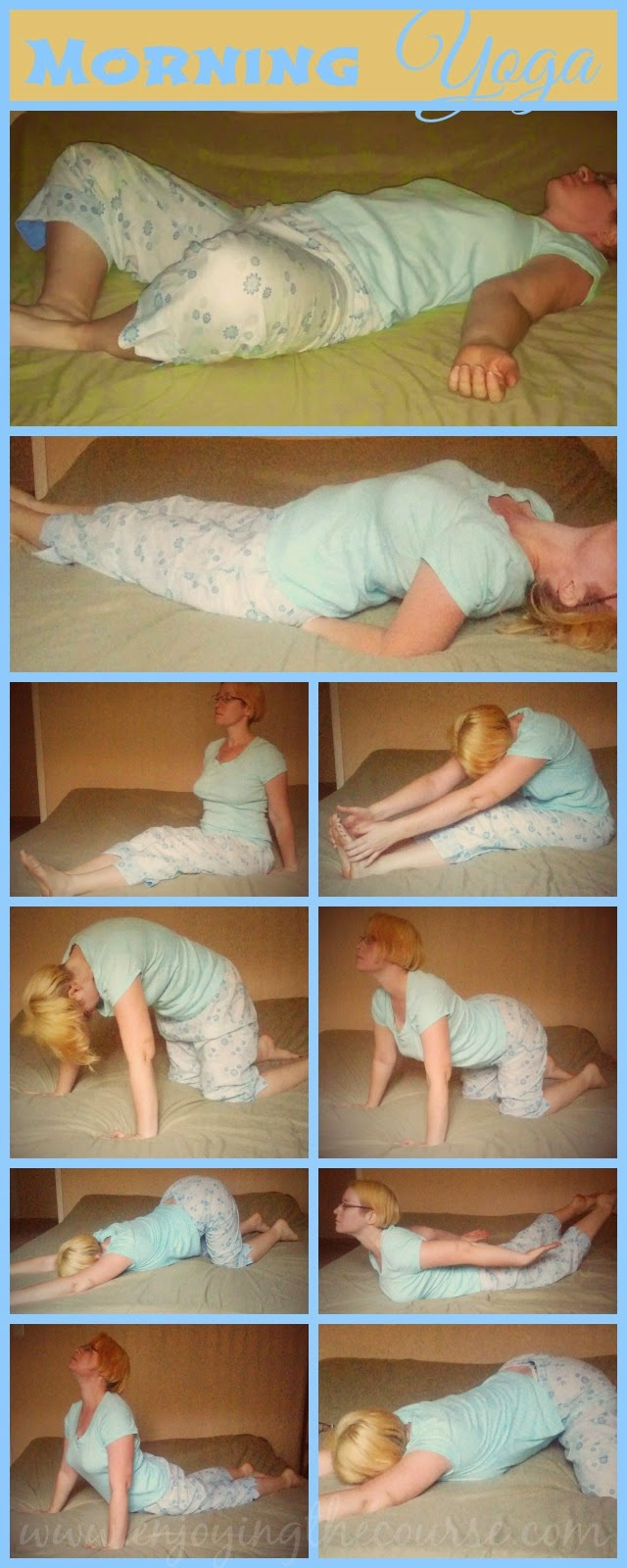 Morning Yoga Sequence (before getting out of bed)