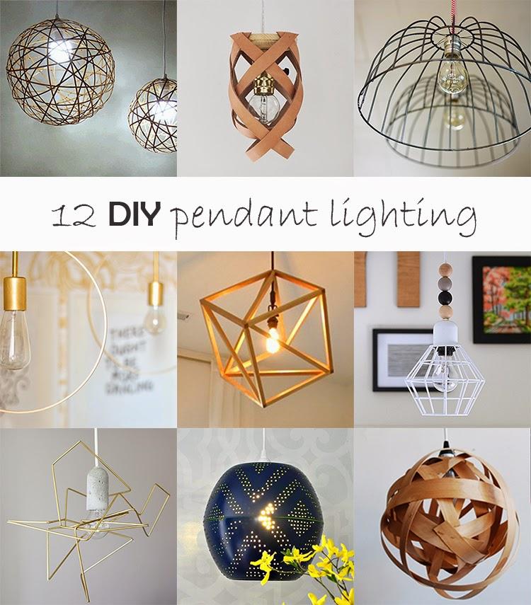 Diy monday pendant lighting ohoh blog diy monday pendant lighting mozeypictures Images