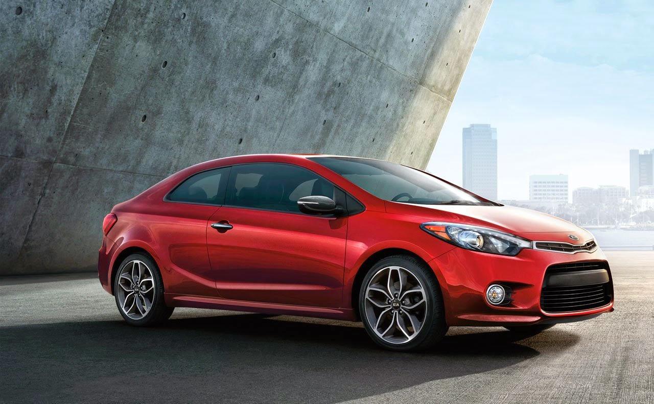 Car Reviews 2015 Kia Forte Designe red