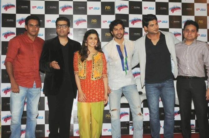Celebs at Humpty Sharma Ki Dulhania Trailer Launch