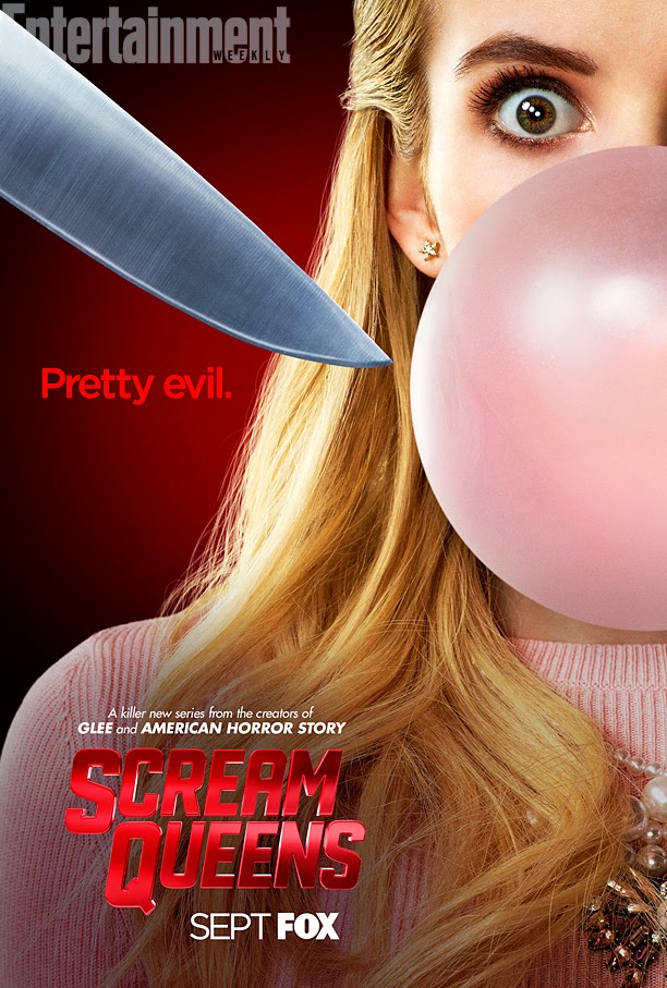 Primeros pósters oficiales de 'Scream Queens'