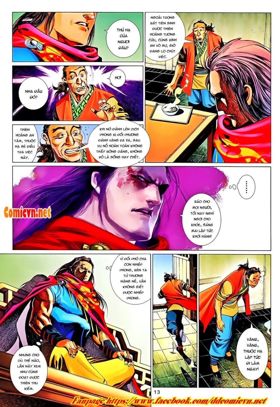 Phong Vân chap 650 Trang 13 - Mangak.info