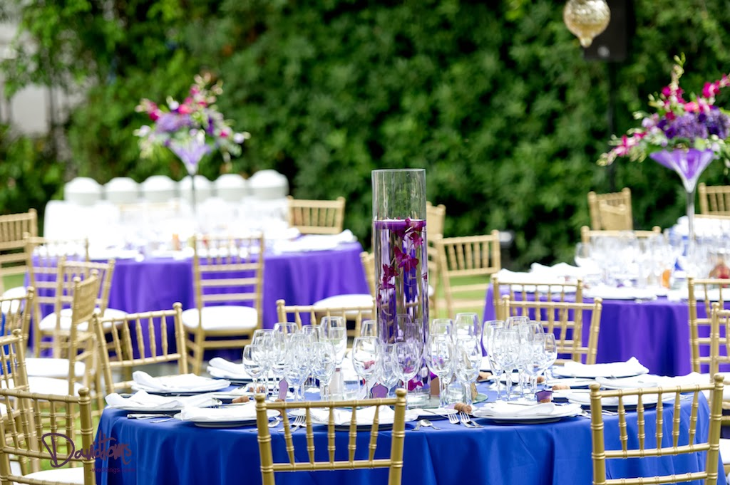 The Wedding Decorator: Moroccan Purples and Blues at the Finca de