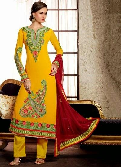 Angrakha 2015 Designs Shalwar Kameez