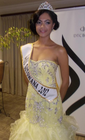 Miss Botswana World 2012 Anna Marie Preston Tapiwa