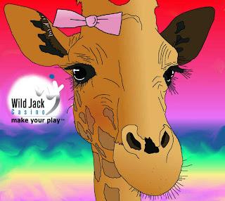 gamblin' giraffe
