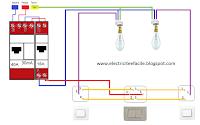 Schemas electriques comment raccorder un va et vient for Quelle couleur avec le bleu 7 schema electrique le raccordement de 3 interrupteurs va