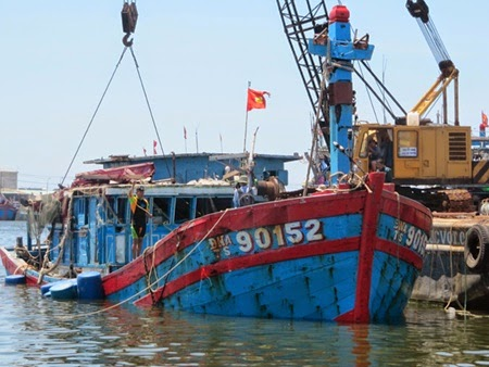 Chinese vessels out to kill