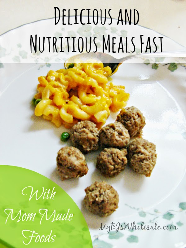 Delicious and Nutritious Meals Fast with Mom Made Foods
