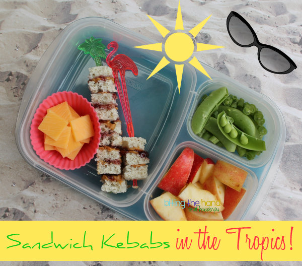 Sandwich Kebabs - Tropical Style!
