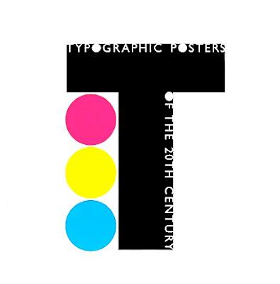 ポスターコレクションにおけるタイポグラフィー展示。