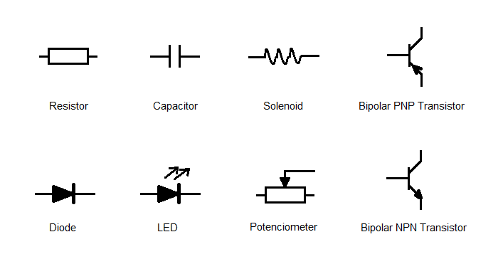 pnp transistor schematic symbol pnp free engine image for user manual