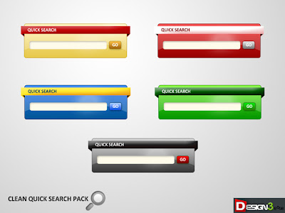 Quick Search Boxes.psd
