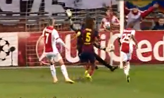 Video Cuplikan Gol Ajax VS Barcelona 2-1