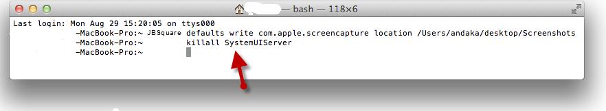 Take Screenshot On Mac OS X