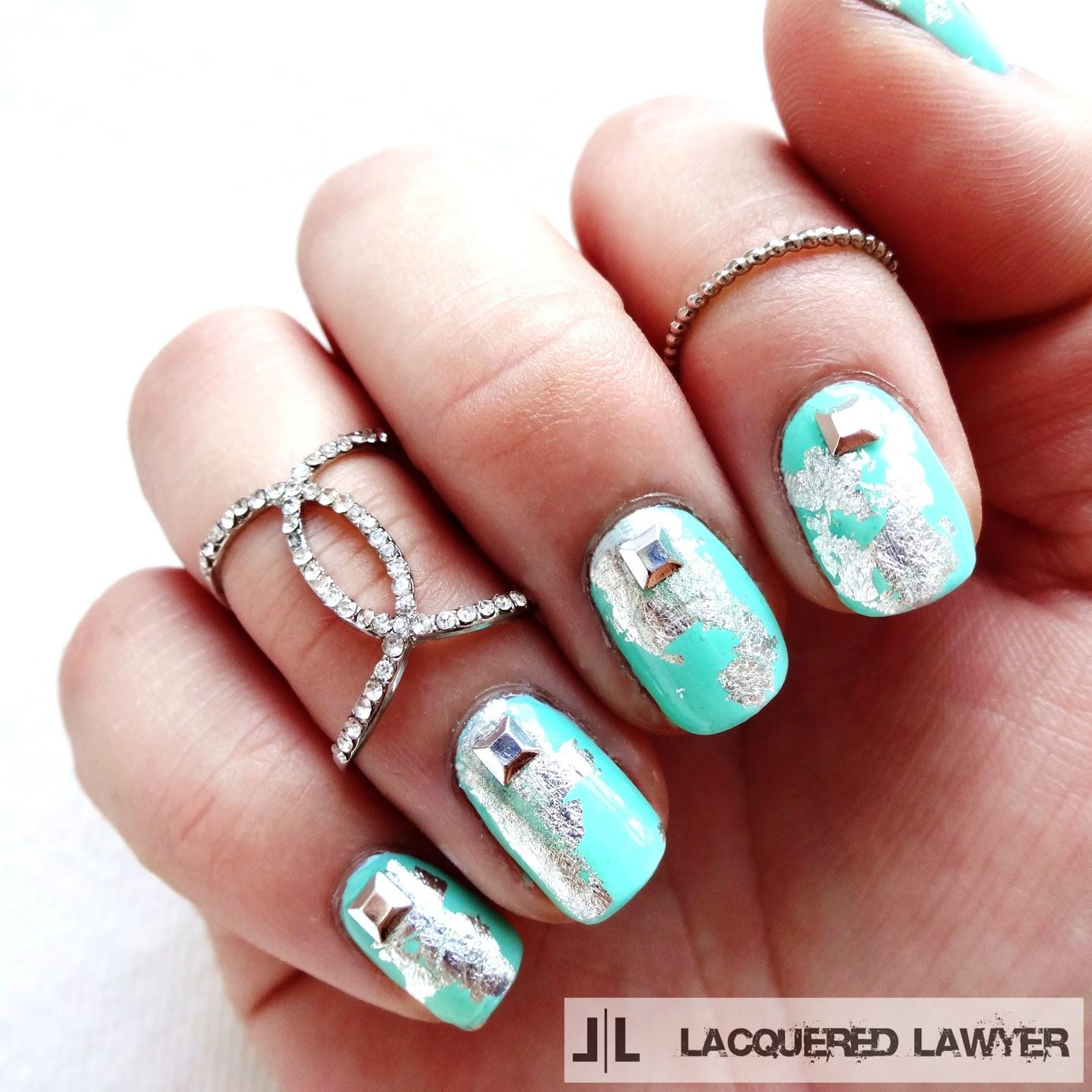 Sea Glass Serenity Nails