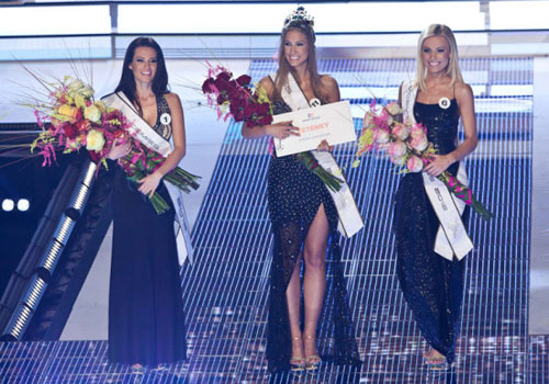 think positively: Miss Universe Slovak Republic 2012 Lubica Stepanova